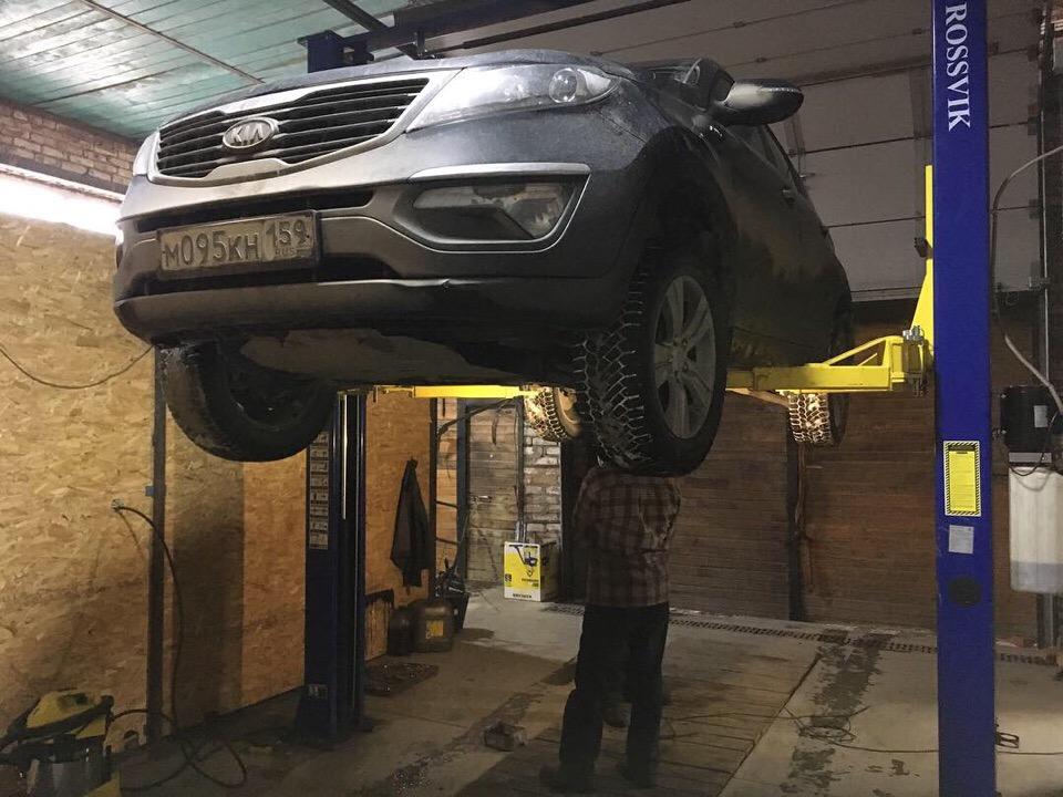 Ремонт карданного вала Kia Sportage