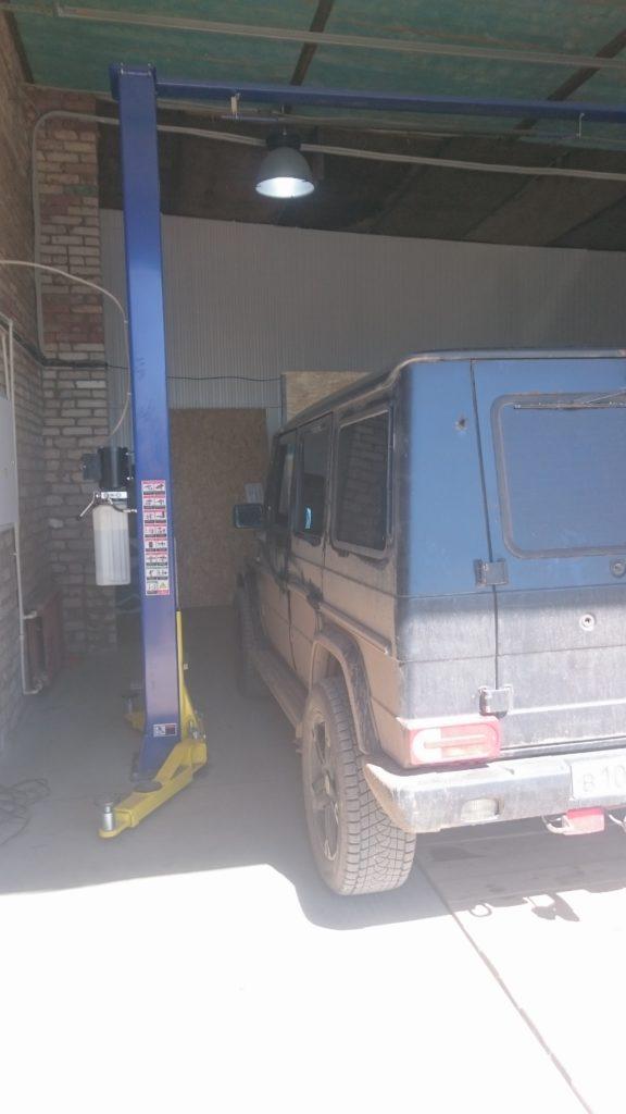 Ремонт обоих карданных валов Mercedes Benz Gelenvagen