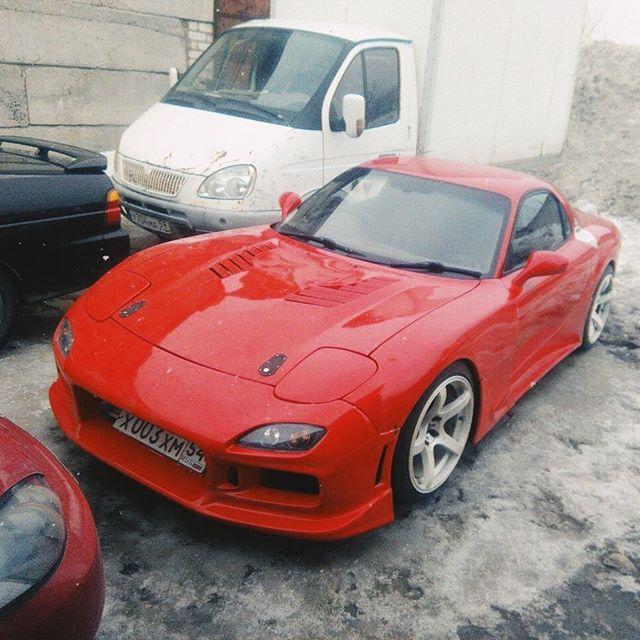 Ремонт карданного вала Mazda RX-7.