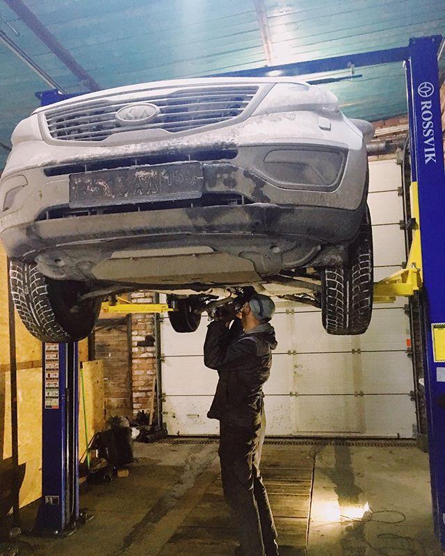 Ремонт кардана Kia Sportage