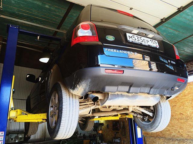 Лайтовый ремонт  Land Rover Freelander II